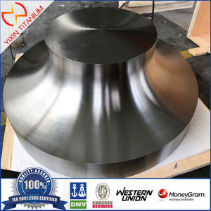 Gr5/Ti 6Al 4V Titanium Impeller for Compressor-Dia830*196mm