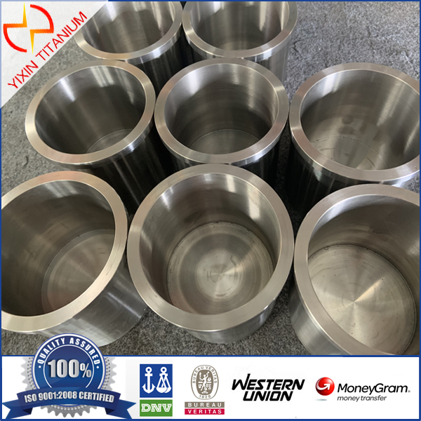 ATSM B381 F5 Titanium Crucible/ Forgings Machined As Per Client Drawing