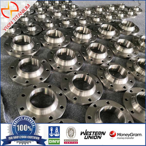 GR7 Titanium Mechanical Flange