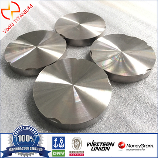 Baoji Yixin- CAD/CAM titanium milling disk, titanium block for dental implant 95mm milling disc